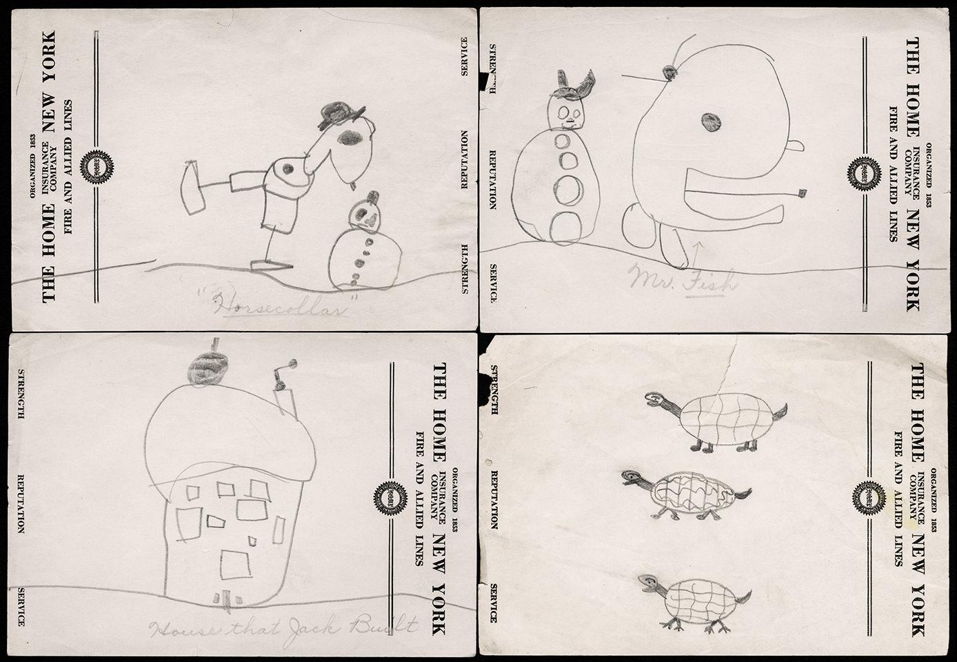 Childhood Drawings