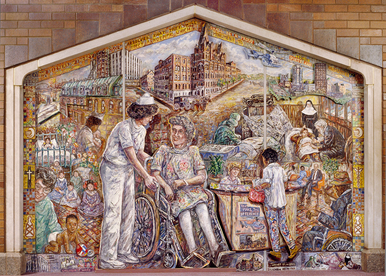 Mercy Hospital Mural